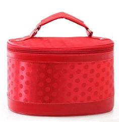 Itemship- Fashion Cute Polka Dot Portable female cosmetic bag Storage bag L (Red) by Itemship, http://www.amazon.ca/dp/B00GGEVC88/ref=cm_sw_r_pi_dp_zEpEsb00D0AE8