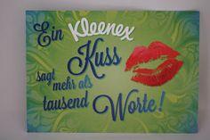 Mimmi´s Teststrecke: Kleenex® - Meine Kuss-Botschaft mit Gewinnspiel
