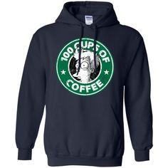 Futurama T shirts 100 Cups of Coffee T shrits Hoodies Sweatshirts
