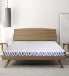 First Sense Queen Bed Reversible Foam Mattrress is ideal for people looking for a firm mattress. Reversibility is its USP, you can flip the mattress upside down for an equivalent feel every four months. A comfortable & pocket friendly mattress offered by Sleep Sutra, you can shop for more such comfortable mattresses at Pepperfry.