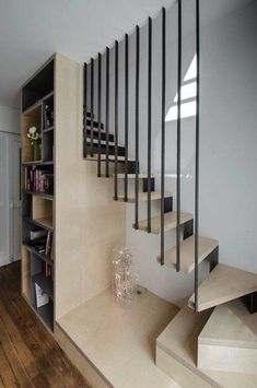 Un garde corps déco dans des escaliers modernes