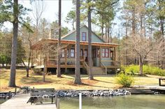 Eclectic Vacation Rental - VRBO 111113 - 4 BR Lake Martin House in AL, Kings Cove - Lake Martin Lake House, Eclectic, Alabama