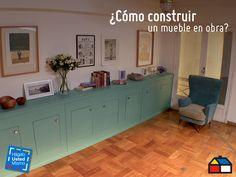 ¿Cómo construir un mueble en obra? Apréndelo con este Hágalo Usted Mismo. #Sodimac #HUM #HágaloUstedMismo