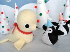 Cute Craft Tutorials, Handmade Toys, Printable Crafts, Kawaii Plush by Fantastic Toys: Christmas Collection 2009