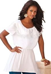 Plus Size : Tops and Tees for Women | Roamans