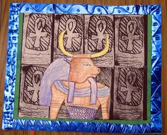 Cassie Stephens: In the Art Room: Egyptian Style
