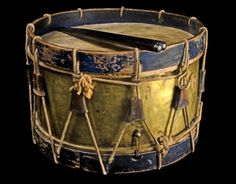 Brass-shelled infantry drum. Looking Back: The Civil War in Tennessee, a project of the Tennessee State Library and Archives, is part of the commemoration of the 150th anniversary of the Civil War. Archivists are digitizing relevant records and artifacts from private owners in all 95 counties in the state.