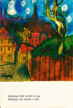 The deep colors rea. Berlin, Little Books, Illustration Art, Illustrations, Night, Artwork, Prints, Hungary, Painting