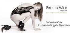 Collection Leather exclu Brigade Mondaine ® http://www.brigademondaine.fr/categorie-produit/boutique/createurs/pretty-wild/