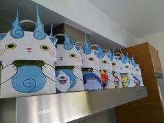 yokai watch party candy bags
