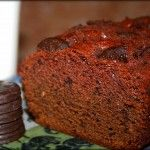 Girl Scout Thin Mint Amish Friendship Bread--I made this with Keebler Grasshoppers--my oh my was it good!