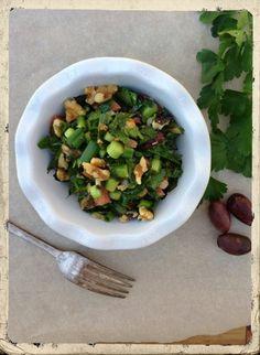 Greek Parsley Garden Salad - California Greek Girl