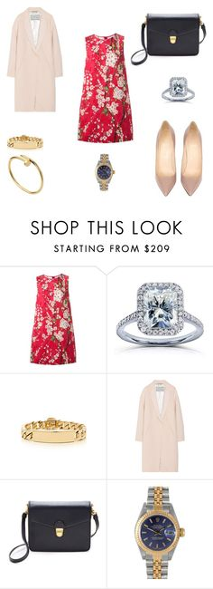 """""""Untitled #165"""" by nina-west19 ❤ liked on Polyvore featuring Dolce&Gabbana, Annello, Tiffany & Co., Christian Louboutin, By Malene Birger, Marc by Marc Jacobs, Rolex, marcjacobs, rolex and dolcegabbana"""