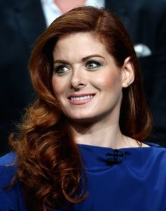 """The NBCUniversal Summer 2014 Television Critics Association Press Tour celebrated exciting, new upcoming NBC television shows. One of the much anticipated shows, """"Mysteries of Laura,"""" stars the beautiful Debra Messing.  Debra looked great on the red carpet in a royal blue dress that complimented her natural red hair and flawless makeup done by LORAC Cosmetics Founder and Celebrity Makeup Artist, Carol Shaw.  Re-create her makeup look with the step-by-steps provided by Carol:"""