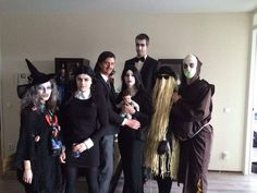 Best DIY costumes Adams Family