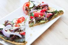 The Rawtarian: Raw almond pulp pizza crust recipe  Another easy and healthy looking idea for using up all that almond pulp!