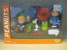 2002 Memory Lane Peanuts Figure Collection Great Pumpkin Schroeder Snoopy Lucy #MemoryLane