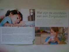 Copywriting by Nankracht Communicatie for Zorgstudent.