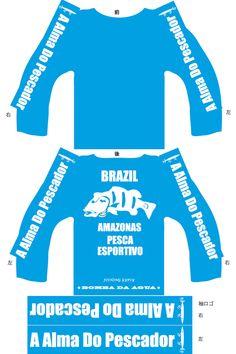 """ボンバダアグア・ロンT """"Confusão Azul"""" ボンバダアグア・ロンT """"Confusão Azul"""" (コンフーゾ・アズール) 「混乱の青」という名の冒険用品の店・別注カラーです。ブラジルでピラルク、カショーロを狙った地域が、「ラルゴ・コンフーゾ」(混乱の湖)という名の地でした。  そして、僕らが釣りをした湖がまさに、このシャツのような青。水は透き通り、そして乾燥している地域の空がつきぬけるような青で、その青がさらに湖水に投影されての「湖の青」をこのシャツで表現しています。カラー名を「混乱の青」、コンフーゾ・アズール「 Confusão Azul  」といたしました。  カラー以外はテル氏がデザインをしたそのままです。両肩には巨大アスーを狙うためのスイッシャー、その下には A Alma Do Pescador 「釣り人の魂」と。  http://jetslow4wear.com/products/detail2.html"""