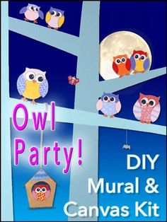 Owl Party Pattern Kit