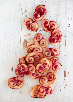 Homemade Raspberry Palmiers