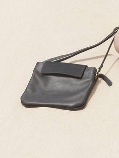 Bolso de cuero pequeño minimalista de cuero bolso de