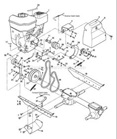 small engine diagram the following img is tecumseh 3 5 hp Murray Engine Diagram troy bilt 12210 bronco rototiller schematics page c lawn mower repair, engine repair,