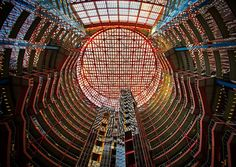 Atrium Mall - Large Hadron Collider ?.. by Taras Khlibovych