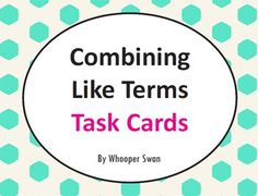 In this packet you will find 24 Task Cards, Recording Sheet and Answer key.Print on cardstock, laminate and cut out each set of cards. Use these cards as a math center work, whole group activity, SCOOT, and more!
