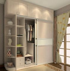 wardrobe designs for a small bedroom pictures 03 - Small Room Decorating Ideas Small Bedroom Wardrobe, Small Bedroom Storage, Small Bedroom Furniture, Bedroom Closet Design, Small Room Decor, Wardrobe Design, Corner Wardrobe, Bedroom Corner, Modern Wardrobe
