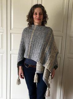 Crochet Poncho Pattern EASY Crochet Ruana Pattern Blanket