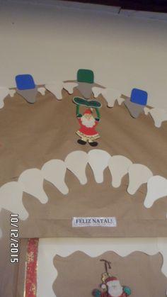 Porta da nossa sala - maternal II - natal 2015
