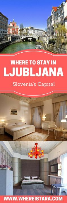 where to stay in Ljubljana, Slovenia -  hotels and apartments. From boutique spa hotels to newly opened design hotels, check out the best hotels in Ljubljana, Slovenia.