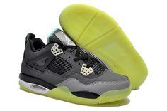 100% authentic 2d8a8 ffe09 Air Jordan 4 Glow Charcoal Grey Black. HiJordan.com