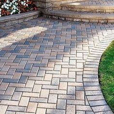 unilock pavers hollandstone reviews - Unilock Patio Designs