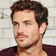 someone to watch over me Latest Haircuts, Haircuts For Men, Beautiful Men Faces, Gorgeous Men, Medium Hair Styles, Curly Hair Styles, Justice Joslin, Mustache Styles, Moustaches