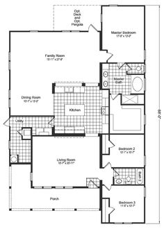 13 best for the home images on pinterest house floor plans the la linda by discovery custom homes malvernweather Choice Image