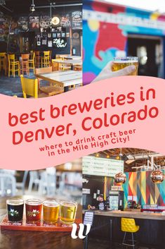 Heading to Denver to drink craft beer? The Denver Beer trail sort of starts in RiNo. These are our favorite Rino breweries ranked from best to worst. Estes Park Colorado, Aspen Colorado, Colorado Trip, Living In Denver Colorado, Colorado Springs, Breckenridge Colorado, Alberta Canada, Honduras, Denver Breweries