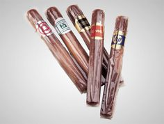 Chocolate cigars are a great way to celebrate achievements in your company! Each comes individually wrapped and branded with your logo.  low as $1.98 #PromotionalProducts #Custom #Food #Candy #Chocolate