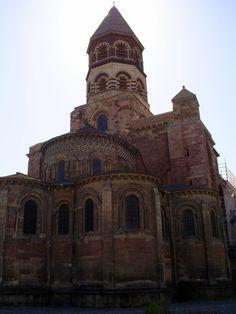 Basilique Saint Julien de Brioude ,Haute - Loire
