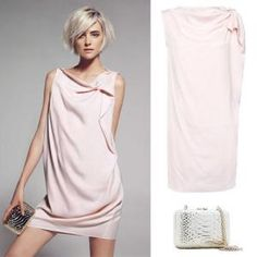 Mango's pale pink dress. This would be so comfy and cute