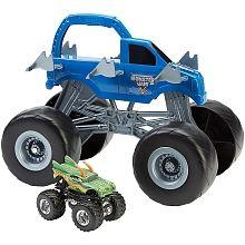 Hot Wheels -  Monster Jam Vehículo Colossal Carrier