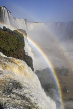 Iguassu Falls by Michele Burgess. Cool Pictures Of NatureAmérica ...