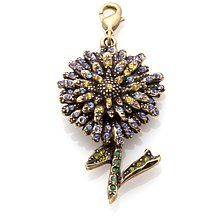 """Heidi Daus """"Sweet Aster"""" Crystal-Accented Charm"""