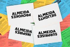 Almeida Theatre identity  |  NB Studio