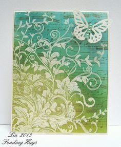 Leafy Vines, for HH blog hop by quilterlin, via Flickr