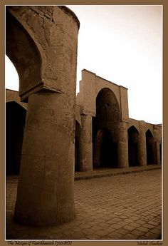 Iran's first mosque The 1200 year old mosque, located on the Southeast of Damghan ,360 km northeast of Tehran