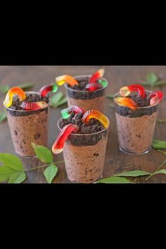 Dirt cake cups