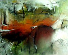 Abstract-Acryl-Tusche auf Leinwand 80x100cm Jahr: 2014  Preis auf Anfrage- Das Gemälde lässt sich in verschiedenen Ansichten aufhängen
