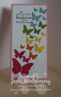 Stampin' Up Butterflies
